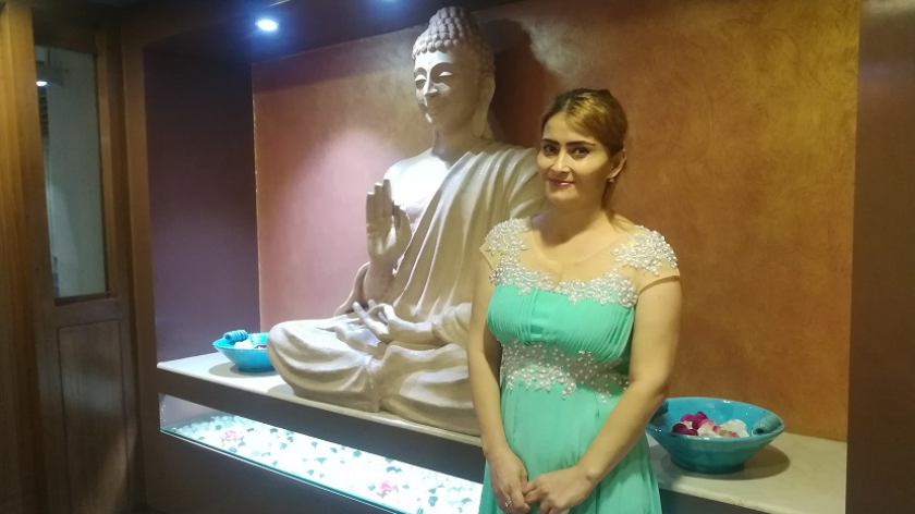 Indian doctors enabled this Uzbek woman to sit after 32 years