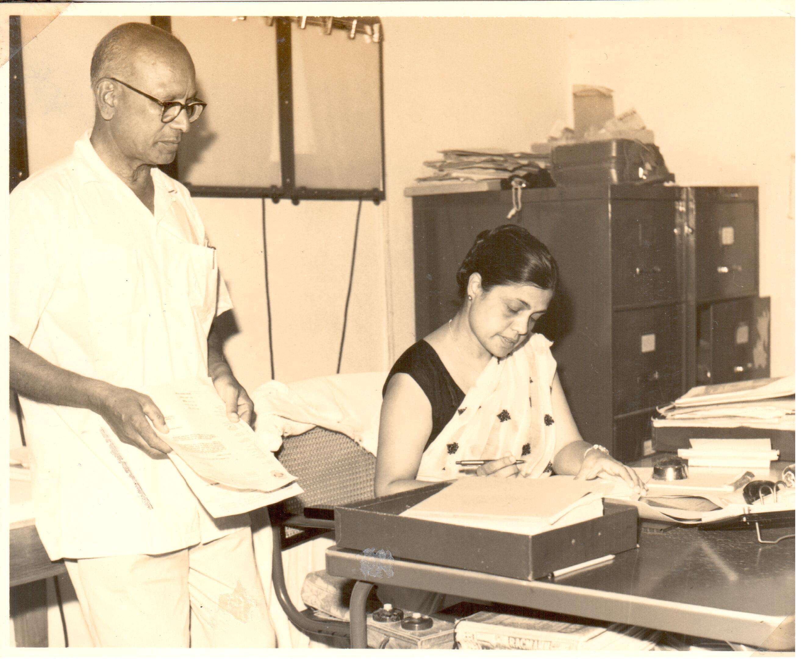 I Opened North India S First Cardiac Clinic At Lady Hardinge Medical College