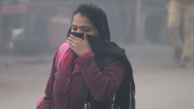 spike in respiratory patients due to air pollution in delhi